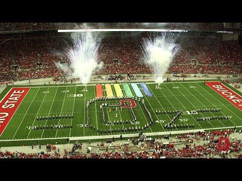 Wizard Of Oz Performance By Ohio State University Marching Band
