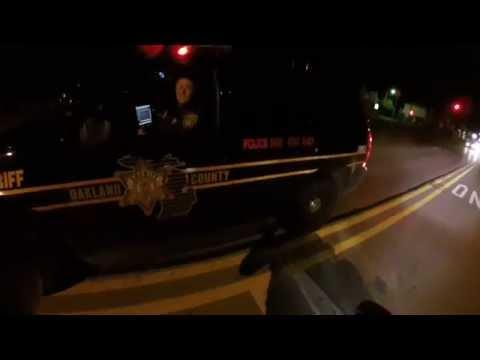 Motorcyclist Helps Police Catch The Drunk Driver