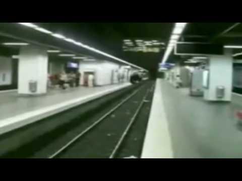 Crazy - Doing A Flip Over The Subway Tracks