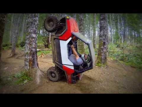 Guy Trying To Climb The Tree Using His ATV Fail