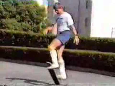 Rodney Mullen Shows Off His Skateboarding Skills