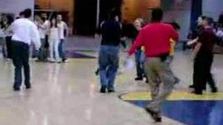Dance Off Between Teachers And Students