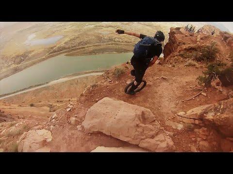 Unicycling In Moab Utah
