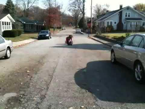 Awesome - Baby Stroller Towed By RC Car