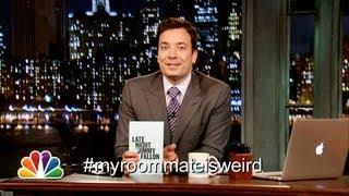 Funny My Roommate Is Weird Hashtag By Jimmy Fallon
