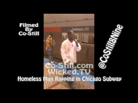 Homeless Man's Amazing Rapping Skills