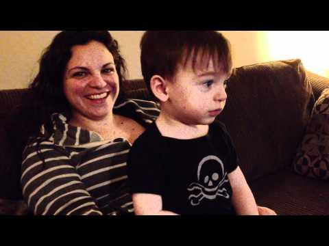 Cute - Baby Boy Won't Let Dad Kiss or Hug Mom