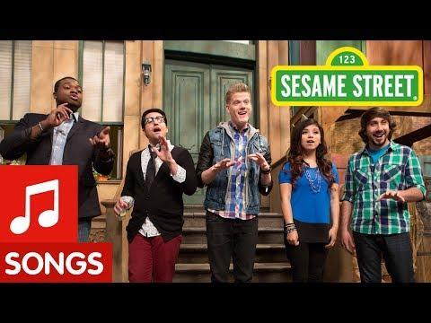 Pentatonix's Numbers Song On The Sesame Street