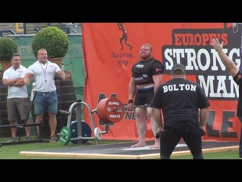 Europe's Strongest Man Benedikt Magnusson's Funny Response To Reporter