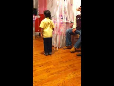 Cute - Kid Dances To Billy Jean Song By Michael Jackson