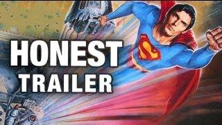 Funny And Honest Superman The Quest For Peace Movie Trailer