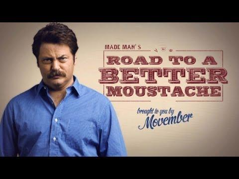 Jokes - How Nick Offerman Grew His Moustache