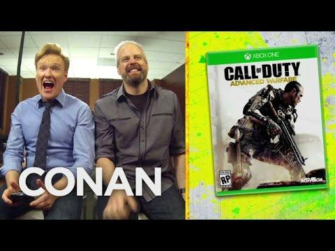 Conan's Funny Review Of Call Of Duty: Advanced Warfare