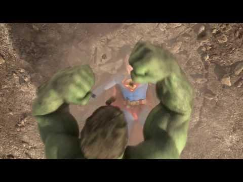 Epic Fight Between Superman And Hulk - Part 3