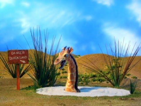 Giraffe Stuck In The Quicksand - Robot Chicken