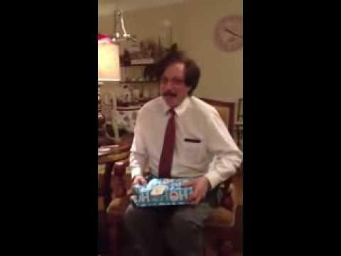 Henry's Surprise Christmas Gift Reaction