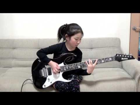 8 Years Old Lisa-X Is An Amazing Guitar Player