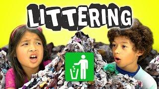 Funny Kids Reaction To Motorcycle Girl Vs People Who Litter