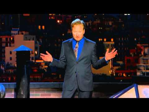 Conan O'Brien - News Stations React Same Way To Same Sex Wedding On Conan Show