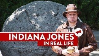 Real Life Indiana Jones Prank