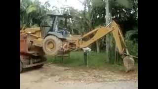 Serious Excavator Loading Skills