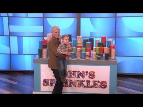 Ellen - Ellen Interviews Sprinkles Kid