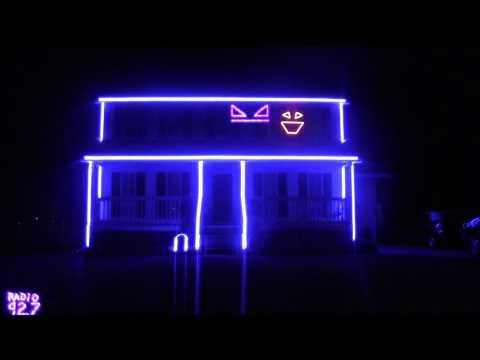 Awesome - Call Me Maybe Halloween House Light Show