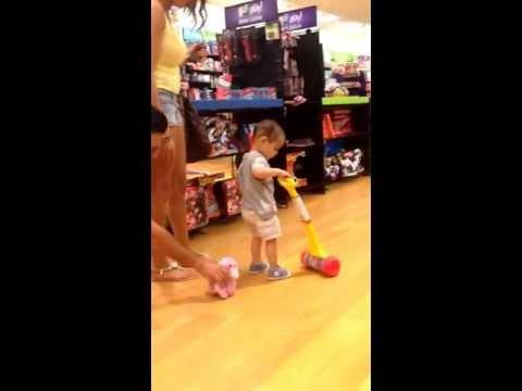 Parents Scare Their Kid With The Pink Poodle Toy