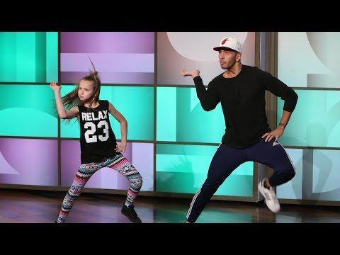 Laurence Kaiwai And Taylor Hatala's Dance To Nicki Minaj's Anaconda On Ellen