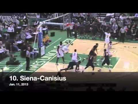 Awesome - 27 College Basketball Buzzer Beater Shots