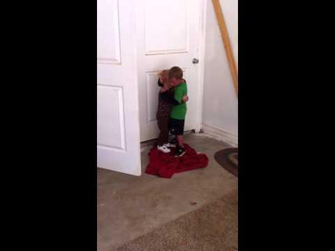 Cute - Brother Protects His Sister
