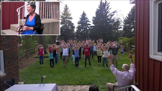 Flashmob Dance For Terminally Ill Stepmom Will Make You Smile