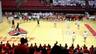 Markus Burden Wins Free Tuition By Making The Free Throw