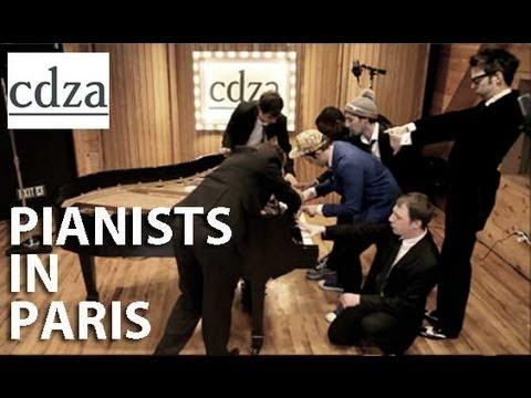 Amazing - 7 Pianists Play Niggas In Paris Song