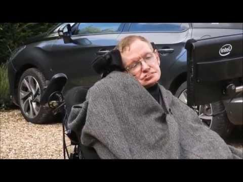 Stephen Hawking Takes The ALS Ice Bucket Challenge