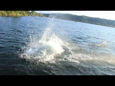 Barefoot Water Skiing Fail