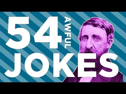 Hank Green Tells 54 Jokes In 4 Minutes