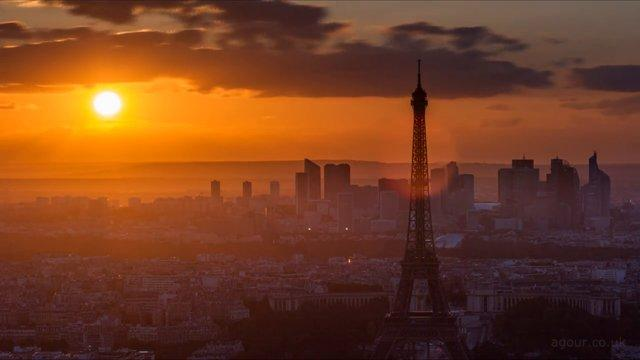 Amazing Timelapse Of Paris