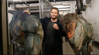 Chris Pratt's Dinosaur Prank