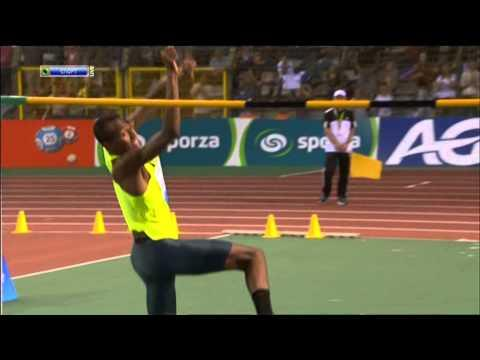 Mutaz Essa Barshim Sets A Record With High 2.43 Meter High Jump
