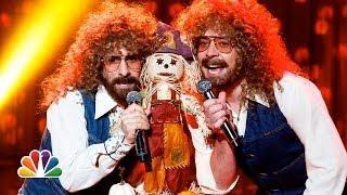 Jimmy Fallon And Jason Schwartzman Do A Cover Of Mr Scarecrow