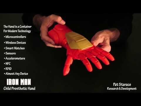 Awesome And Cool 3D Printed Iron Man Prosthetic Hand