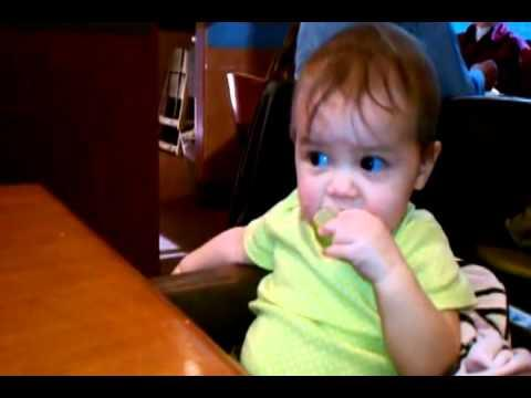 Cute - Baby's Funny Reaction To Lime