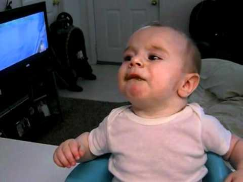 Jokes - Baby's Reaction To Green Beans Taste