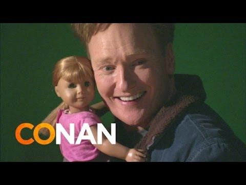 Conan Visits American Girl Place Store In Los Angeles