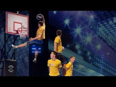 Awesome - Basketball Acrobatics By Face Team
