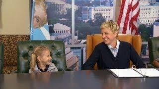 Ellen Talks To Kids About Random Things