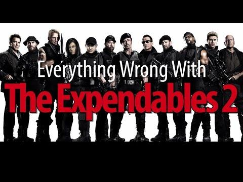Movie Mistakes From Expendables 2