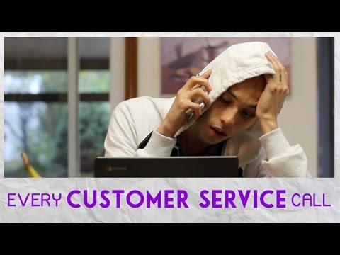 Parody Of Every Customer Service Call
