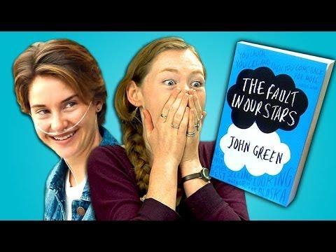 Funny Teens Reaction To Fault In Our Stars Movie Trailer